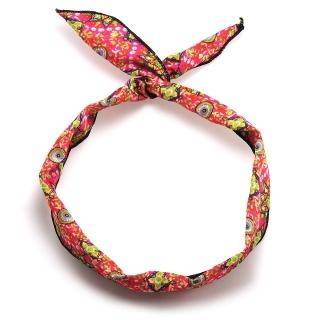 Женская повязка на голову солоха с ярким узором
