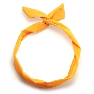 Желтая солоха повязка на голову
