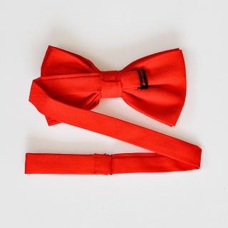 Красный мужской галстук-бабочка