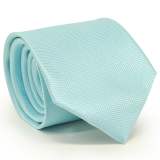 Мужской галстук аквамаринового цвета