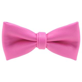 Купить кожаную бабочку розового цвета