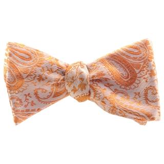 Галстук-бабочка #825 (оранжевый пейсли)