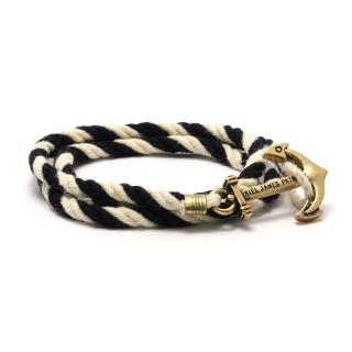 Купить веревочный браслет с якорем