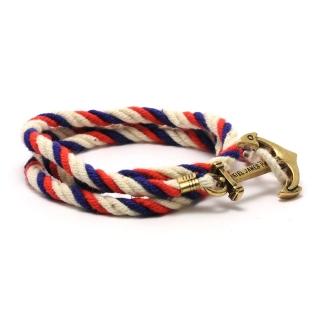 Веревочный браслет #036