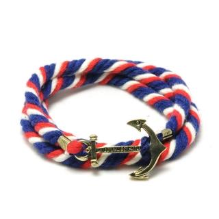 Веревочный браслет #038