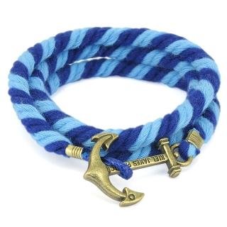 Веревочный браслет #048 (полоска)
