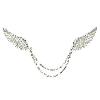 Купить брошь на воротник с крыльями
