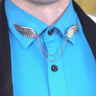 Брошь на воротник #005 (крылья)