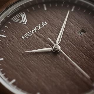 Деревянные часы Feelwood Trump