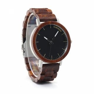 Деревянные часы #007 Wi-Man