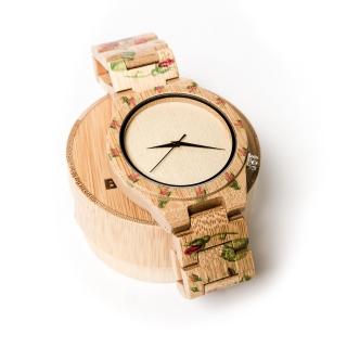 Деревянные часы #027 Classic