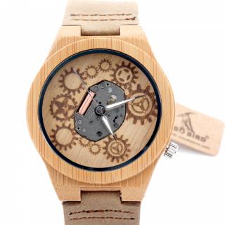 Деревянные часы #032 Print