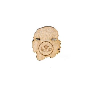 Деревянный значок Че Гевара