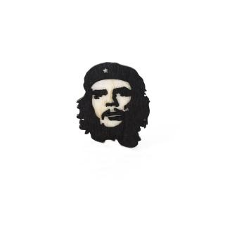 Деревянный значок #001 (Че Гевара)