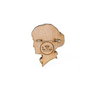Деревянный значок Анна Ахматова