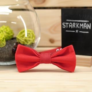 Красная детская галстук-бабочка