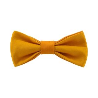 Детская оранжевая галстук-бабочка
