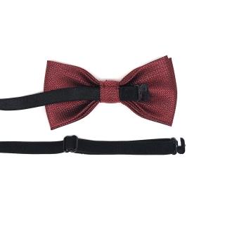 Купить детский бордовый галстук-бабочку