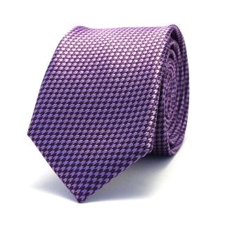 Фиолетовый галстук с текстурой