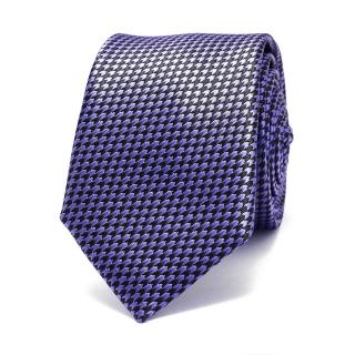 Фактурный голубой галстук