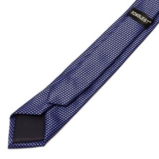 Текстурный голубой галстук