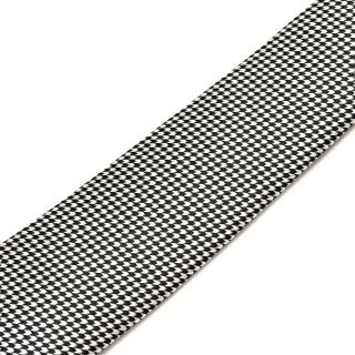 Узкий текстурный галстук в клетку
