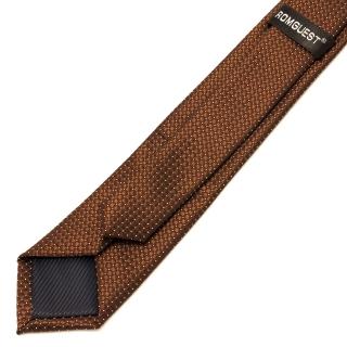 Качественный коричневый галстук