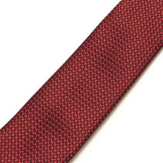 Качественный бордовый галстук