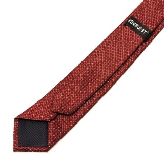 Модный бордовый галстук