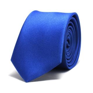 Купить синий однотонный галстук