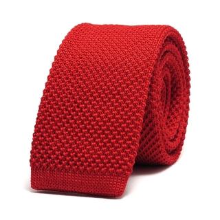 Узкий галстук #042 (вязаный)