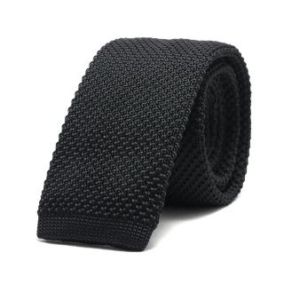 Узкий галстук #043 (вязаный)