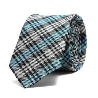 Купить узкий галстук в клетку