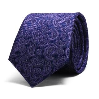 Узкий галстук #048 (пейсли)