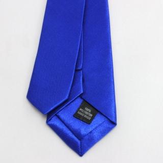 Купить мужской синий галстук атлас