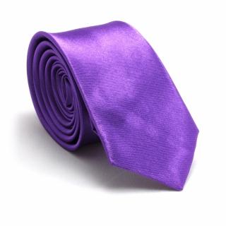 Узкий галстук #057 (лиловый)