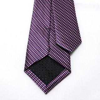 Фактурный узкий лиловый галстук для мужчин