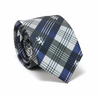 Купить галстук серо-синих тонов