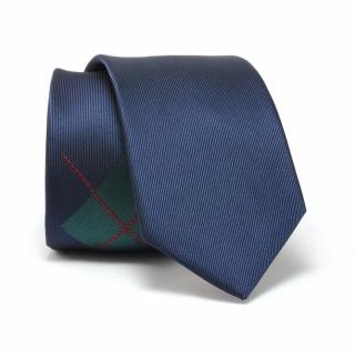 Узкий галстук #087 (зеленый ромб)