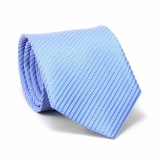 Купить голубой галстук в полоску