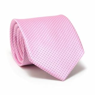 Галстук #110 (розовый в полоску)