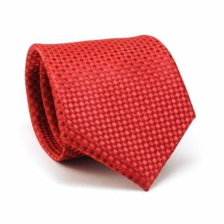 Купить красный фактурный галстук
