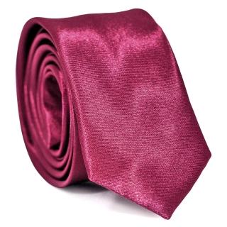 Узкий галстук #116 (фиолетовый)