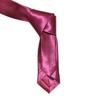 Однотонный фиолетовый галстук