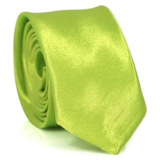 Узкий галстук #117 (зеленый)