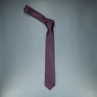 Недорогой стильный модный узкий галстук клетчатого цвета
