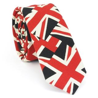 Узкий галстук #129 (флаг)