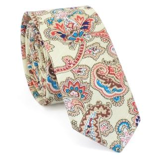 Узкий галстук #130 (огурцы)