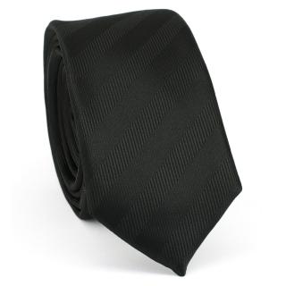 Узкий галстук #150 (черный)
