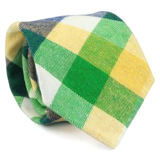Узкий галстук #151 (зеленый)